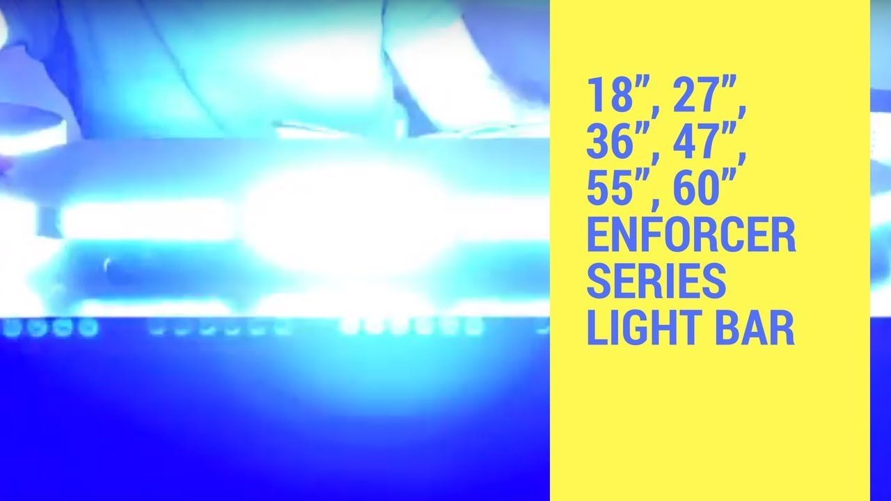 hight resolution of led outfitters enforcer led lightbar