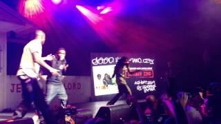 10/17/12 Çizgi film ve Gevrek Nokia Theater Los Angeles Kendrick Lamar, Ab-soul & Jay Rock -