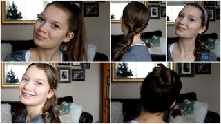 Easy and Cute No Heat Hairstyles For Any Day
