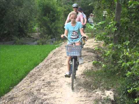 MEKONG CAI BE FLOARTING MARKET  -CAI LAY -CYCLING 1 DAY TOUR -NEW TOUR IN VIETNAM