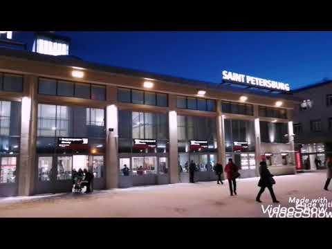 Санкт-Петербург. Финляндский вокзал. Ласточка.