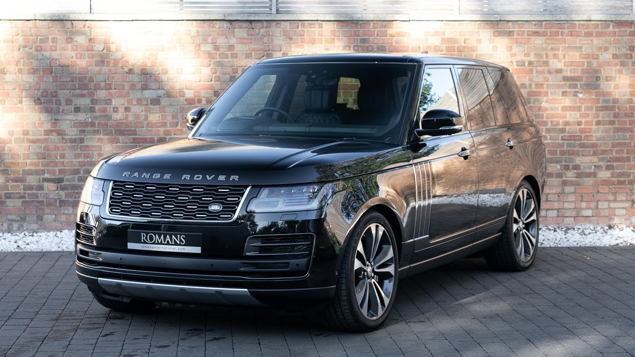 2018 Range Rover SV Autobiography Dynamic >> 2018 Range Rover 5 0 Svautobiography Dynamic Santorini Black Walkaround Interior Loud Revs