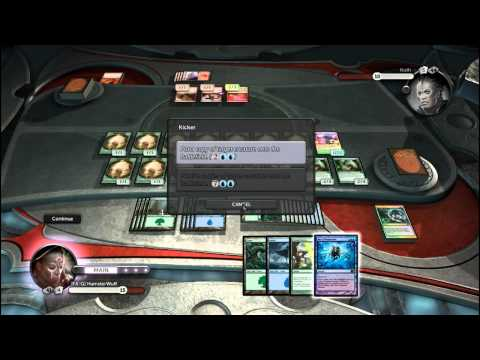 Magic the Gathering - Duel of the Planeswalkers - AD Deck Gameplay Test 2