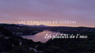 Lac Esparron, merveille de Haute-Provence