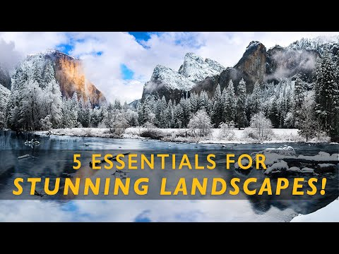 5 Landscape Photography ESSENTIALS | Do YOU have them?