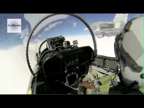 Cockpit Footage: CF-18 Hornet, Royal Canadian Air Force