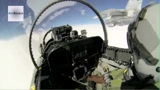 Cockpit Footage: CF-18 Hornet, Royal Canadian Air Force
