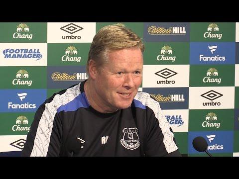 Ronald Koeman Full Pre-Match Press Conference - Everton v Middlesbrough
