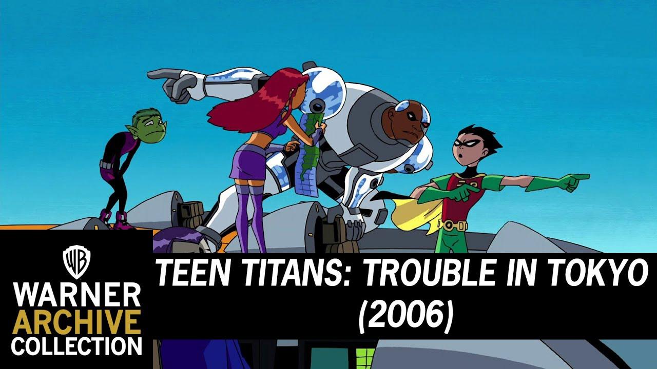 Download Clip HD   Teen Titans Trouble in Tokyo   Warner Archive