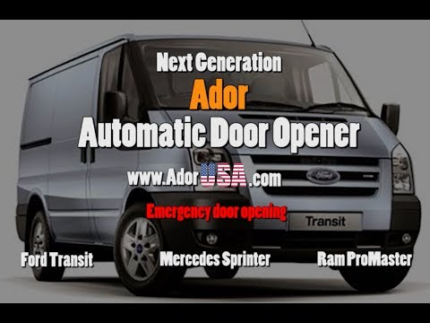 Door Opener Emergency Manually Opening Mercedes Benz Sprinter Dodge Ram Promaster Ford Transit