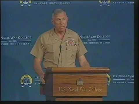 CSF 2009 | Gen. James Conway: The Marine Corps: Where is it going and how does it get there?