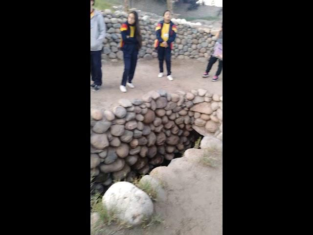 Canal de regadío de Cantalloc en Nasca