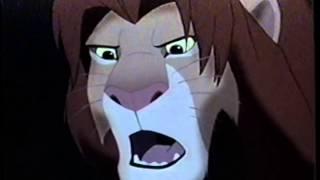 The Lion King (1994) Teaser (VHS Capture)