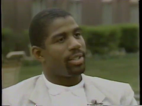 Rare! 1987 Interview with Magic Johnson (Greatest NBA Player Ever?)