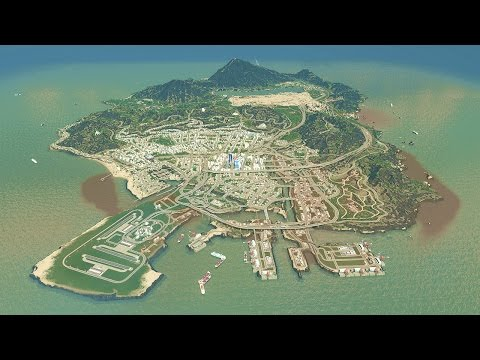 GTA 5 IN CITIES SKYLINES! (Cities: Skylines)