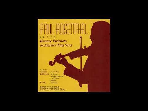 Paul Rosenthal Bravura Variations on Alaska's Flag Song