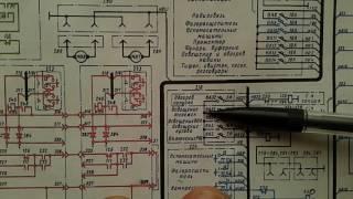 Электровоз ВЛ 80 с. Схема ЦУ от АБ.