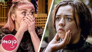 Top 10 Awesome Maisie Williams Moments