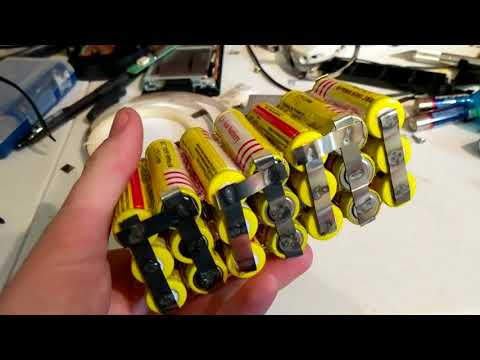 How to make a 24V li-ion battery pack.