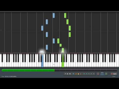 Joy To The World - Piano Tutorial (Synthesia) + Sheet Music & MIDI