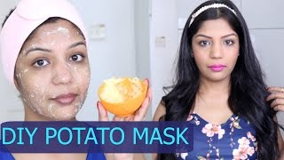DIY Potato Face Mask for Skin Lightening and Pigmentation | SuperPrincessjo
