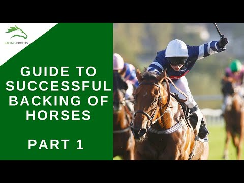 Horse Racing Today - Part 1 - Guide To Successful Backing Of Horses