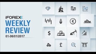 iFOREX Weekly Review 01-06/01/2017: Euro, GBP and USD.