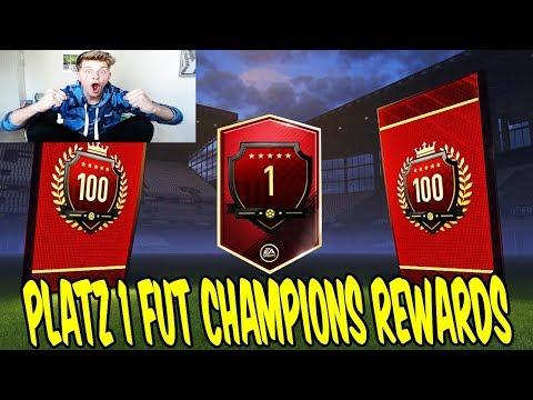 3x GEILER WALKOUT! ⛔️🔥 PLATZ 1 der WELT FUT CHAMPIONS REWARDS! - Fifa 18 Pack Opening Ultimate Team