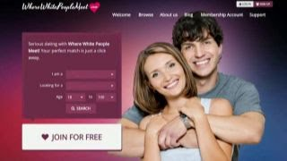 Free dating sites for white people