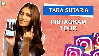 Tara Sutaria: I'm Actually the One Who Always Hugs Ananya Panday and…| Instagram Tour | BFF