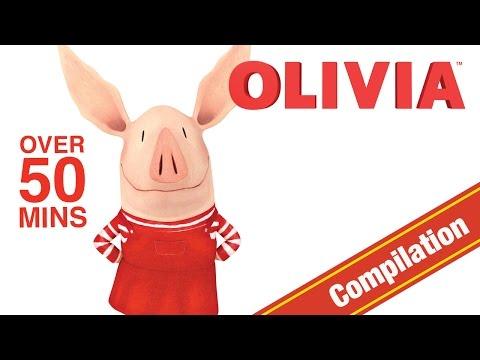 Olivia the Pig | Olivia Christmas Video Compilation | Olivia Full Episodes