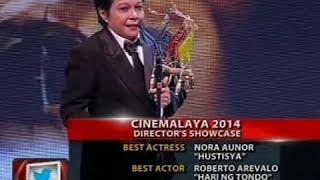 24 Oras: Nora Aunor, kabilang sa mga nagwagi sa 10TH Cinemalaya Independent Film Festival
