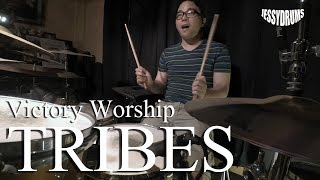 Download TRIBES by Victory Worship - Drum cover by Jesse Yabut Mp3 and Videos