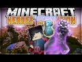 Gambar cover Minecraft: Mod Showcase UPDATE 2 - Heroes Expansion - THE INFINITY GAUNTLET and BLACK PANTHER