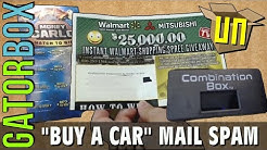 'Buy A Car' Mail Spam | GatorUNbox