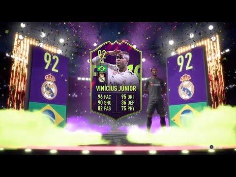 😱 VINICIUS JUNIOR 92 + DOPPIO MBAPPE IF 89 IN A PACK !!! TOP 5 BEST PACK OPENING! FIFA 19 ITA #116