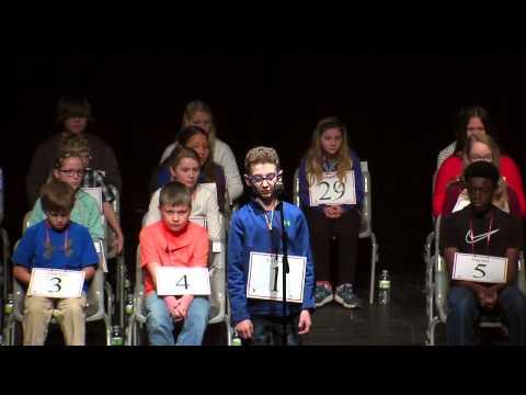Scripps Spelling Bee 2017