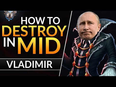 The ULTIMATE VLADIMIR GUIDE: Best Tips And Tricks To RANK UP | League Of Legends Mid Lane Guide