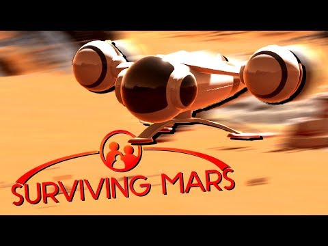 Shuttle Deliveries Online! - Ep. 8 - Surviving Mars Gameplay