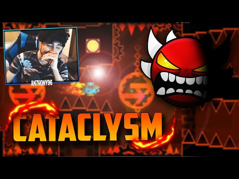 "🔥Me Pasé ""CATACLYSM""🔥(EXTREME DEMON) En GEOMETRY DASH"