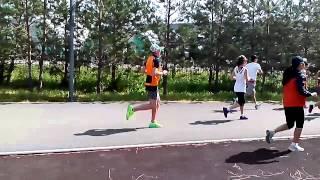 Старт легкоатлетического забега