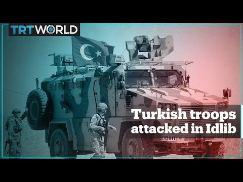 Syrian regime forces attack Turkish posts in Idlib, Turkey hits back #Regime