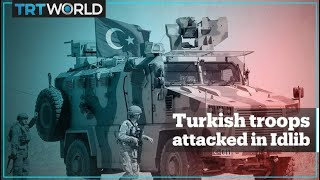 Syrian regime forces attack Turkish posts in Idlib, Turkey hits back