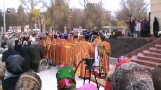 Открытие Храма Святого Дмитрия.ч1