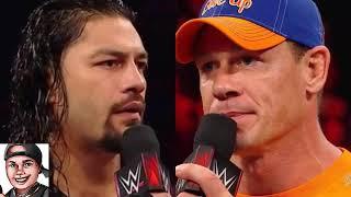 John Cena Blames Himself  for ROMAN REIGNS Struggles ?