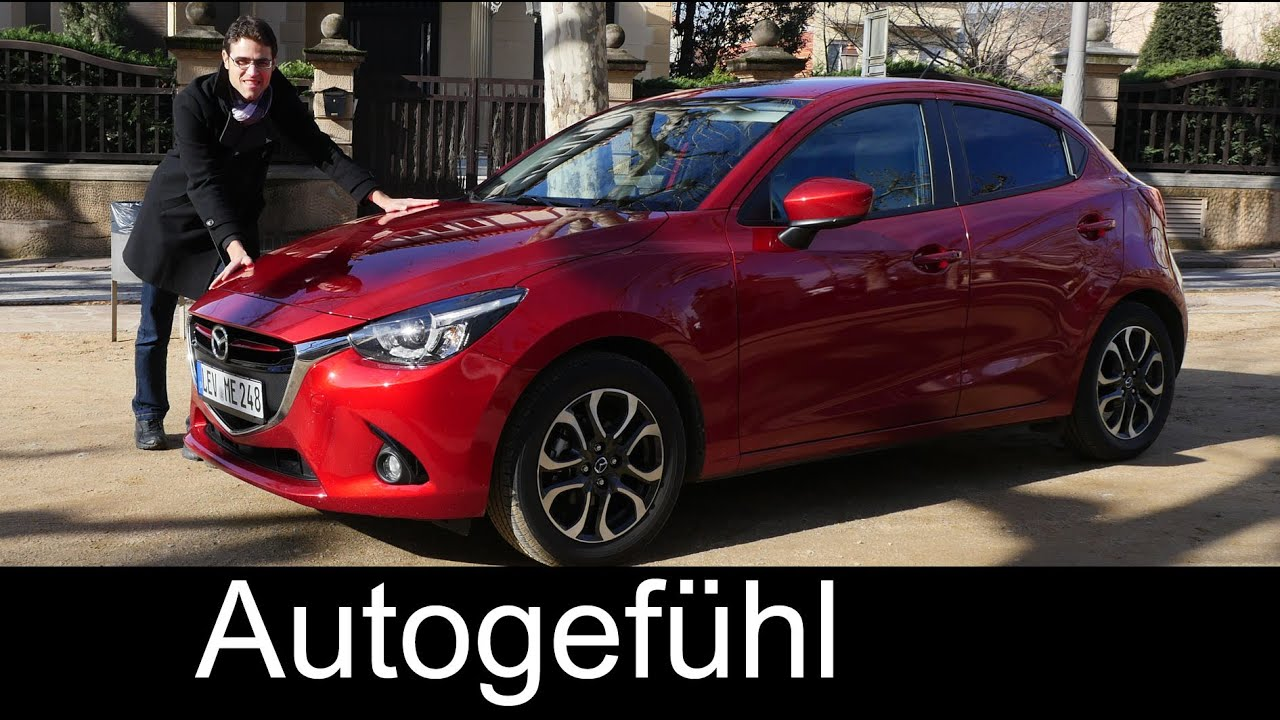 all new mazda2 2015 2016 test drive review sportsline neuer mazda2 autogef hl youtube. Black Bedroom Furniture Sets. Home Design Ideas