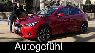 Video All-new Mazda2 2015/2016 test drive REVIEW Sportsline Neuer Mazda2 - Autogefühl download MP3, 3GP, MP4, WEBM, AVI, FLV Juli 2018