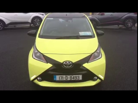 171D8493 Aygo X-CITE 1.0 5DR Yellow Fizz