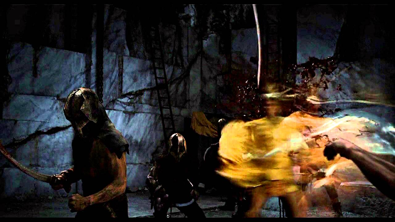 best scene ares massacres hyperion s men the immortals hd