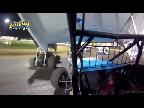 #75 Tyler Utz -360 Sprint - 7-14-19 Lake Ozark Speedway- In Car Camera